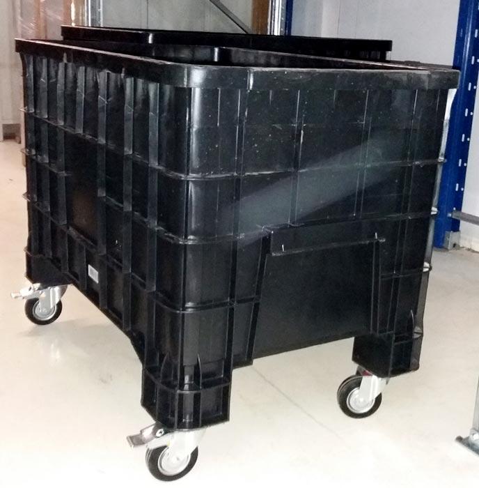 Tecnostrutture offerta contenitori in plastica cassoni for Contenitori in pvc per esterni