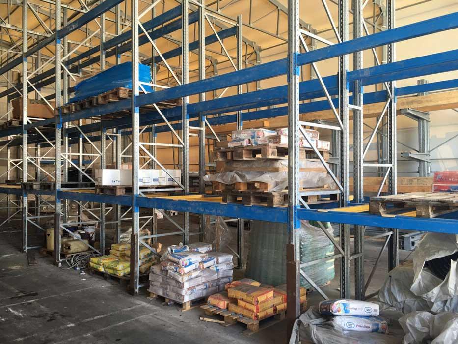 Scaffalature Per Pallets Usate.Tecnostrutture Scaffali Industriali Usati Porta Pallets Prezzi