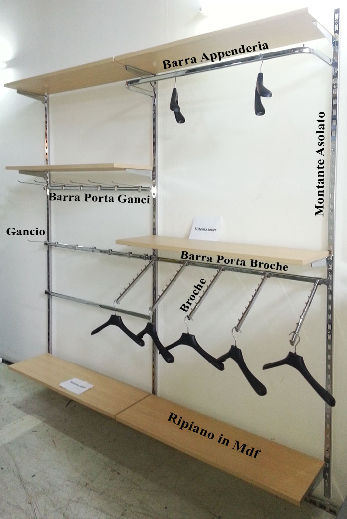 Scaffalatura per cabina armadio opinioneuropeenne - Scaffali per cabine armadio ...