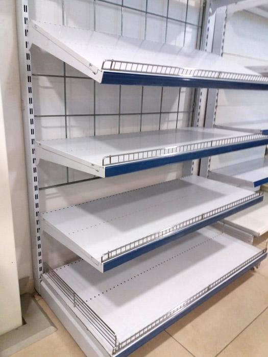 Scaffali X Supermercato.Tecnostrutture Scaffali Usati Self Service Scaffali