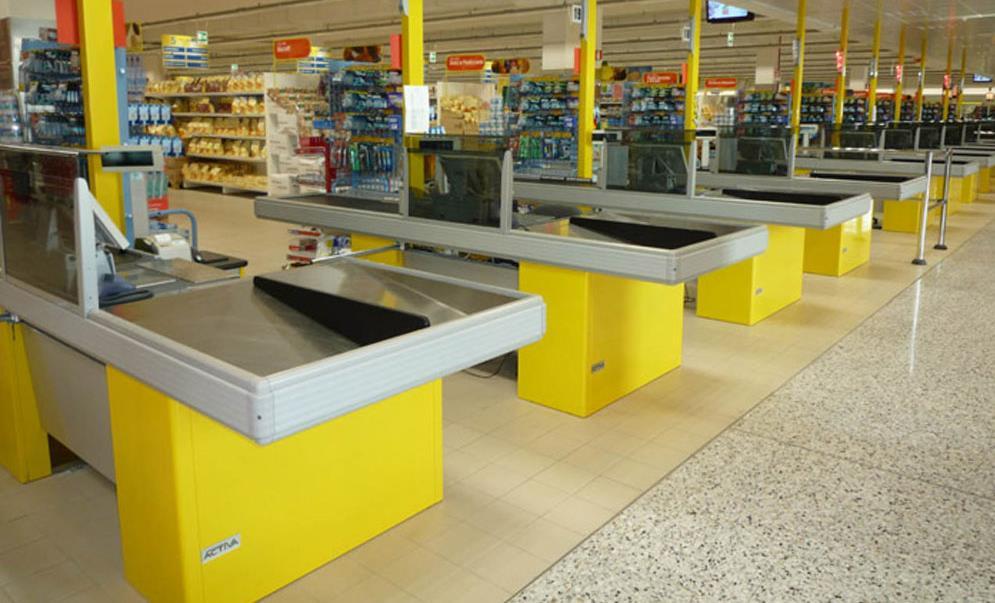 Scaffalature Per Supermercati Usate.Tecnostrutture Compravendita Di Scaffali Usati Per Negozio Prezzi