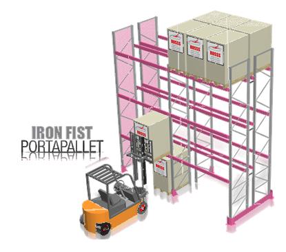 Scaffali Industriali Portapallet.Tecnostrutture Prezzi Scaffali Industriali Porta Pallet